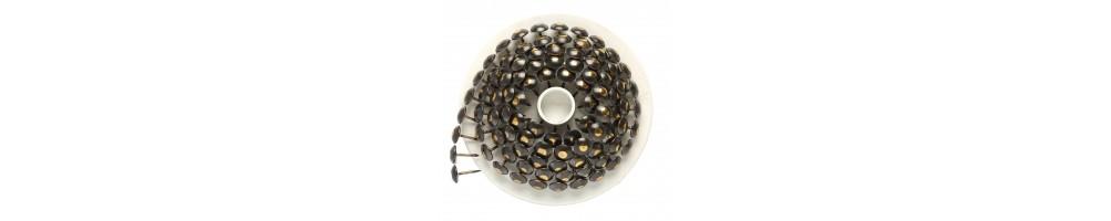 nails on loader on disc